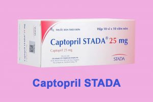 Captopril Stada 25mg