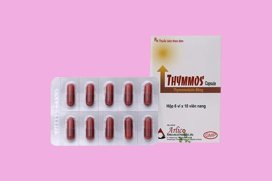 Thymomodulin với dạng biệt dược Thymmos