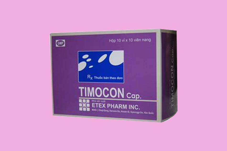 Thymomodulin với tên biệt dược Timocon