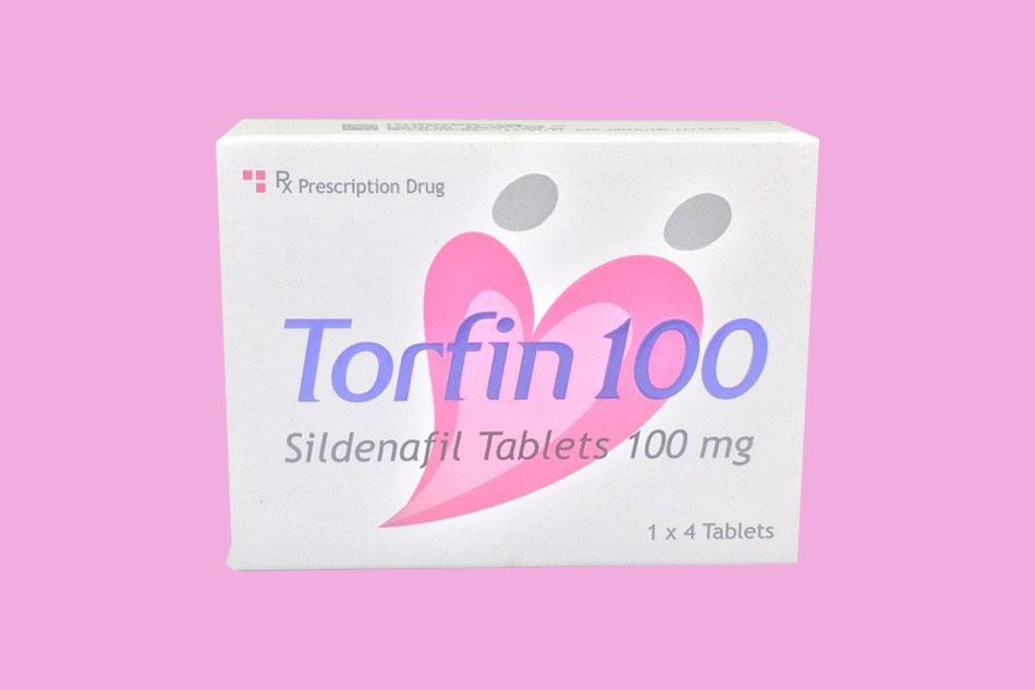 Torfin 100 bào chế dưới dạng viên nén
