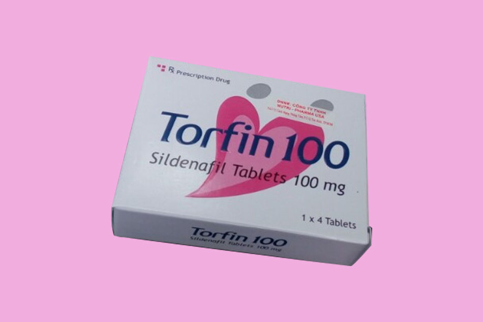 Hình ảnh hộp thuốc cường dương Torfin 100