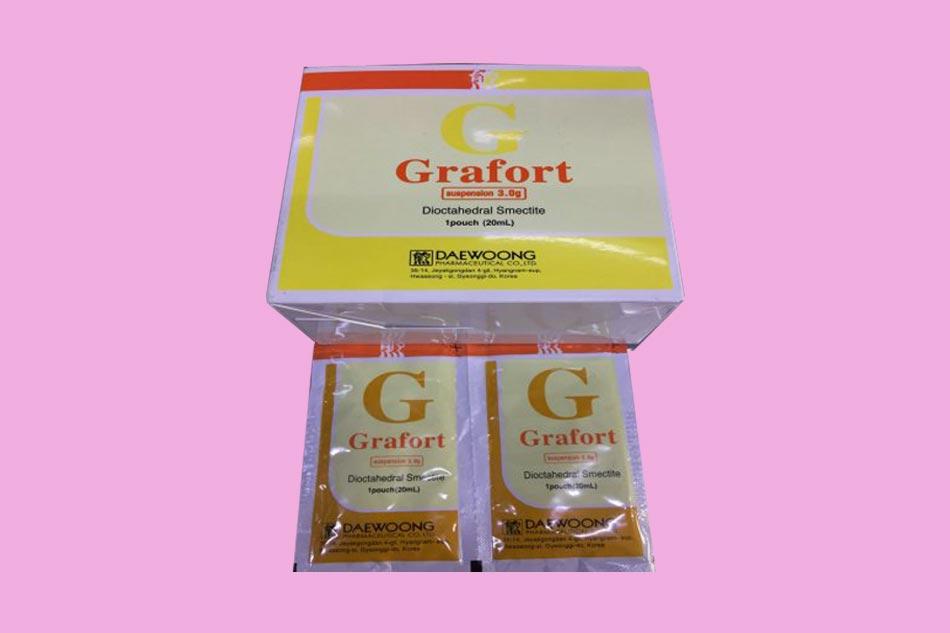 Thuốc Grafort được bào chế dưới dạng hỗn dịch uống