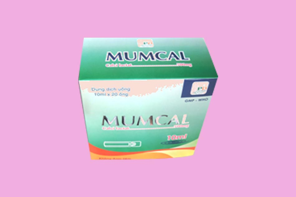 Hình ảnh hộp thuốc Mumcal