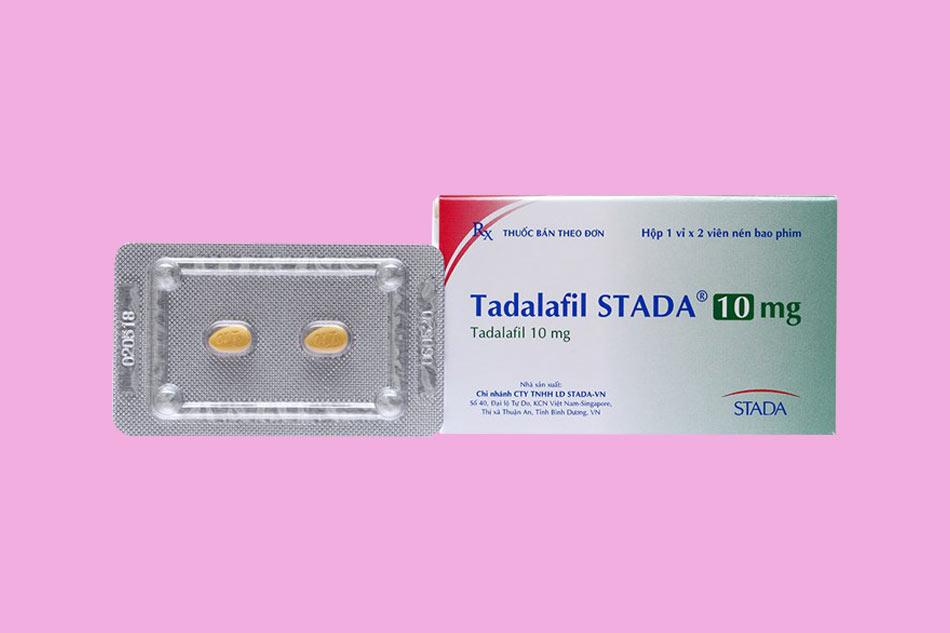 Hình ảnh hộp thuốc Tadanafil STADA