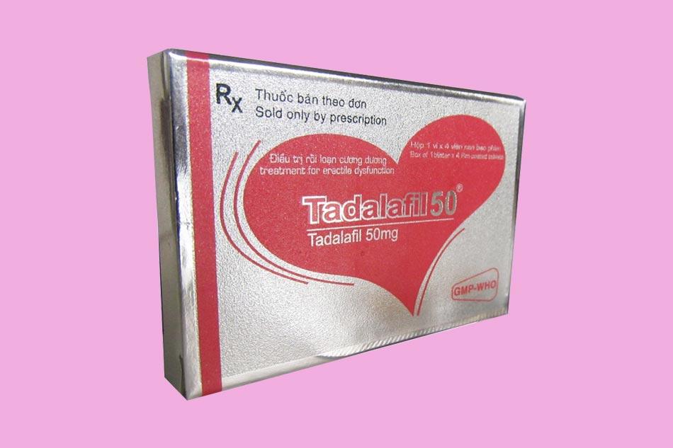 Tadanafil - điều trị rối loạn cương dương