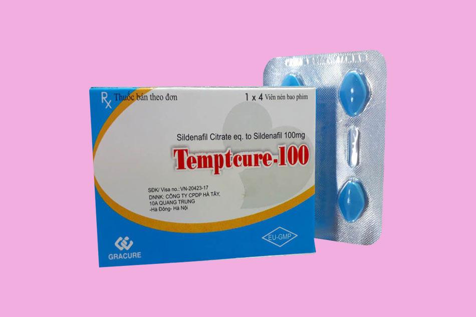 Hình ảnh hộp thuốc cường dương Tempteure 100