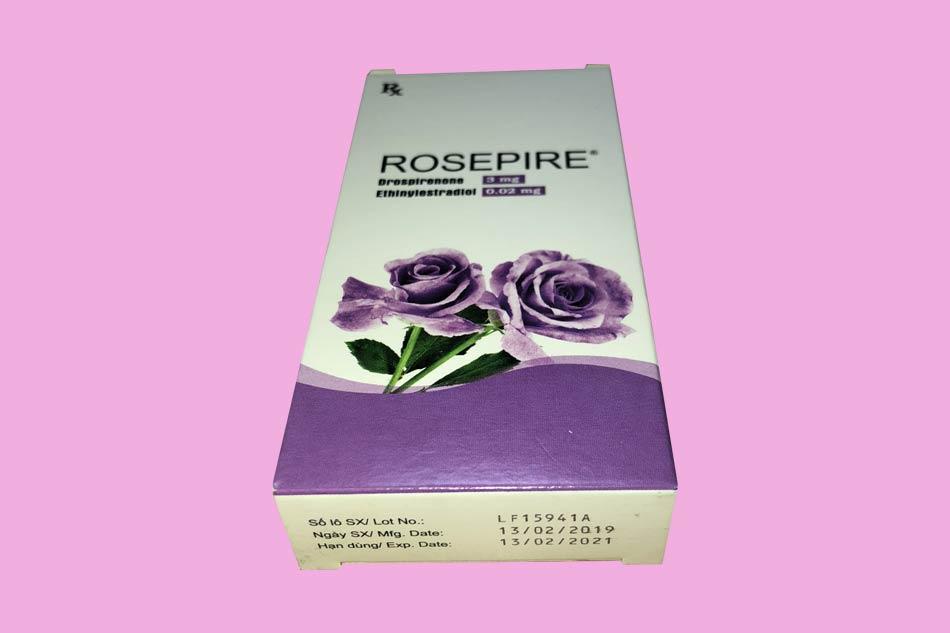 Hình ảnh hộp thuốc Rosepire tím