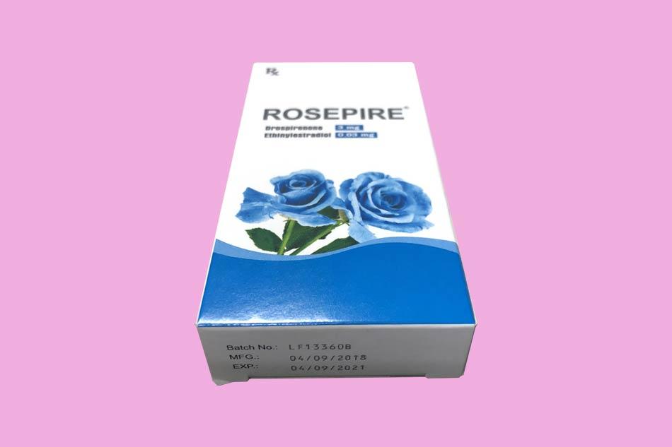 Hình ảnh hộp thuốc Rosepire xanh